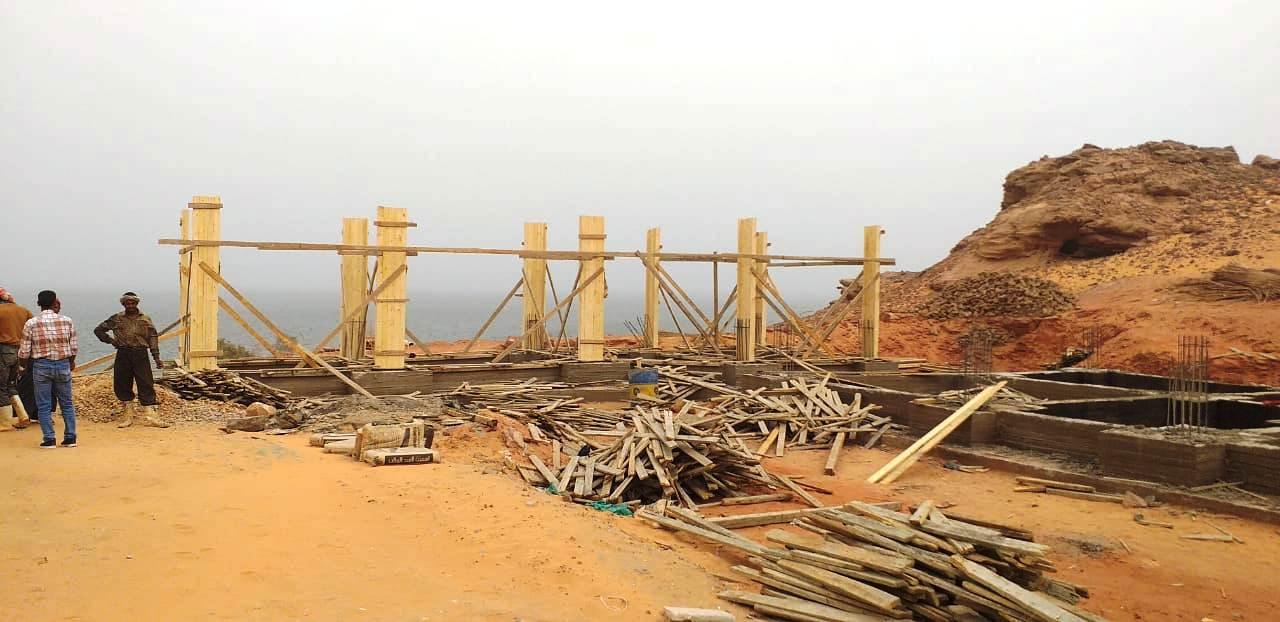 معبد الدكة قبل خطة التطوير وبعد الانتهاء من جزء منها (3)