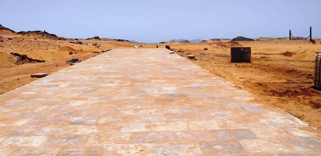 معبد الدكة قبل خطة التطوير وبعد الانتهاء من جزء منها (4)
