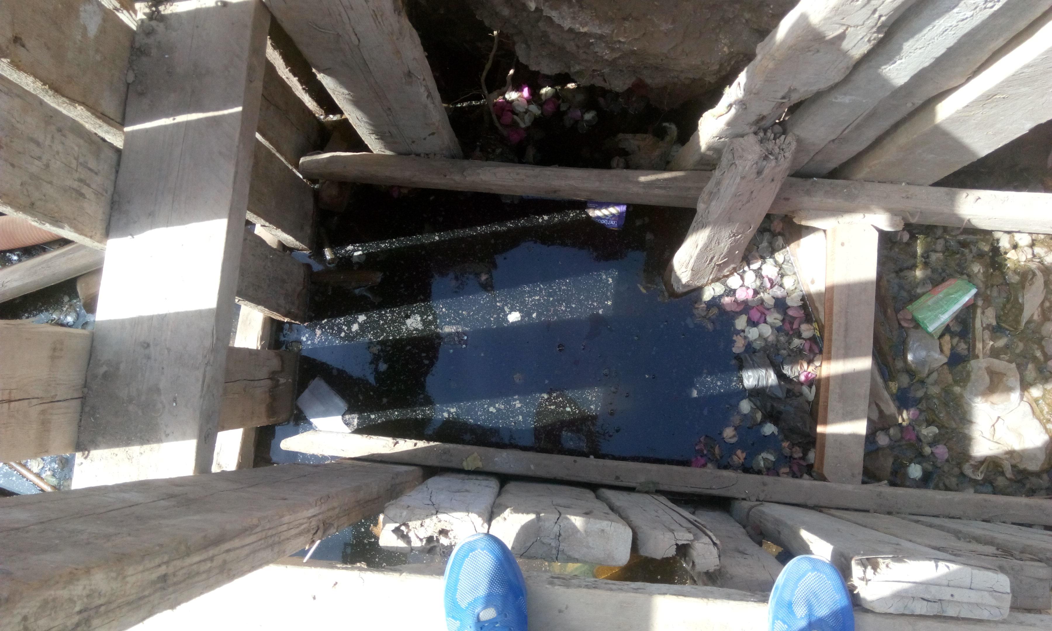 توقف العمل فى مشروع الصرف الصحى بقرية شبراملس فى الغربية (10)