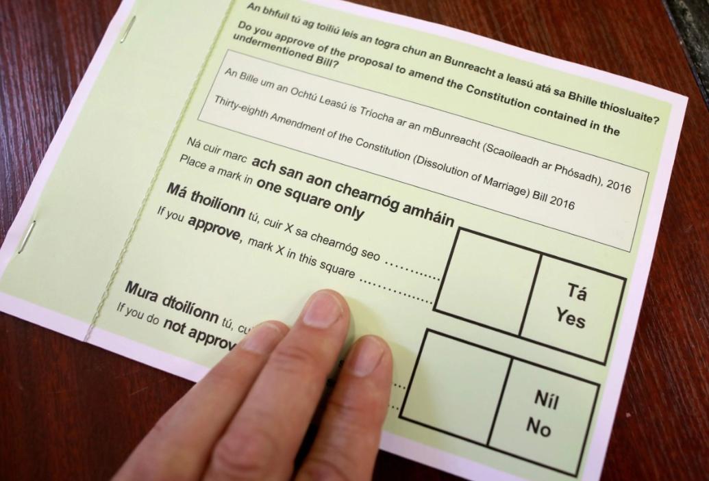 بطاقة التصويت
