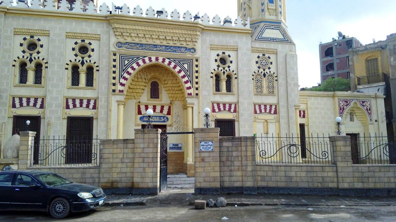 المسجد تحفة معمارية