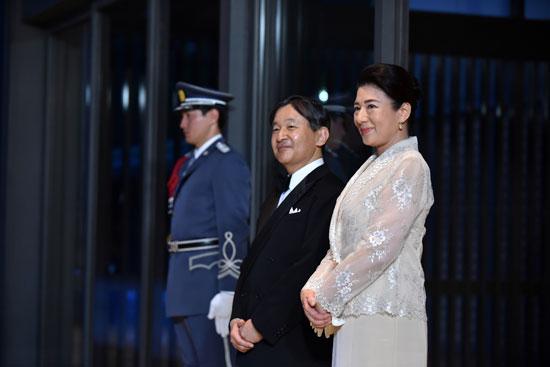 مأدبة عشاء رسمية بين الإمبراطور اليابانى ودونالد ترامب (7)