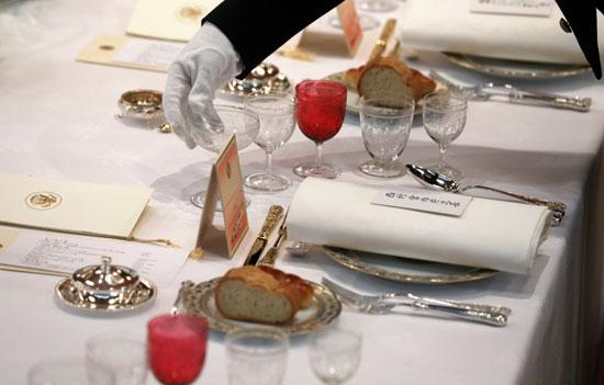 مأدبة عشاء رسمية بين الإمبراطور اليابانى ودونالد ترامب (4)