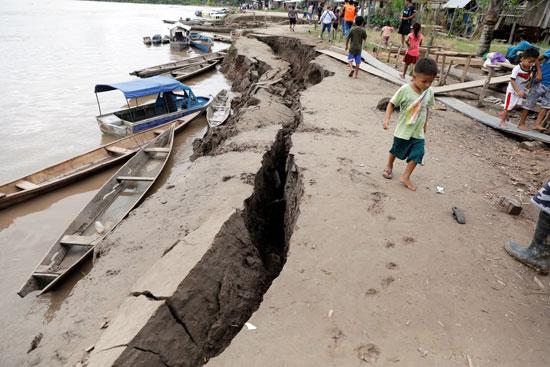 زلزال بيرو2