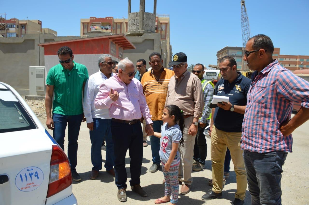 جولة  محافظ بورسعيد على قناة الاتصال (2)