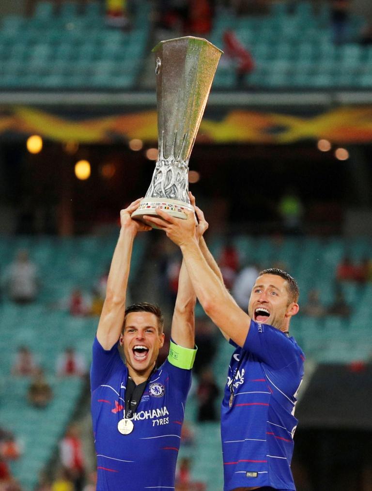تشيلسي يتوج بلقب الدوري الأوروبي (4)