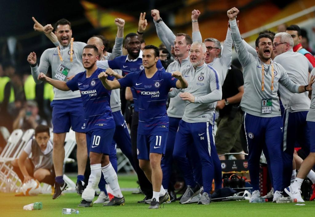 تشيلسي يتوج بلقب الدوري الأوروبي (1)