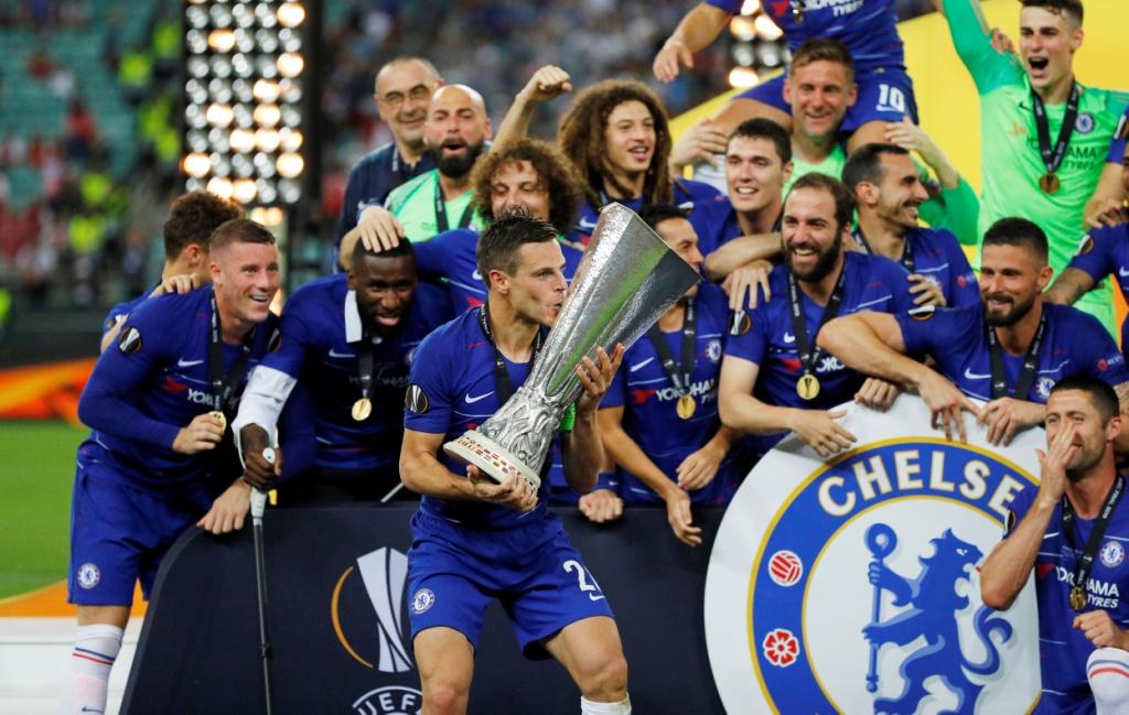 تشيلسي يتوج بلقب الدوري الأوروبي (8)