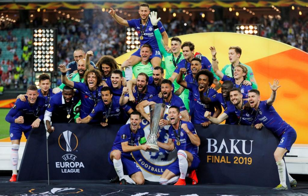 تشيلسي يتوج بلقب الدوري الأوروبي (7)