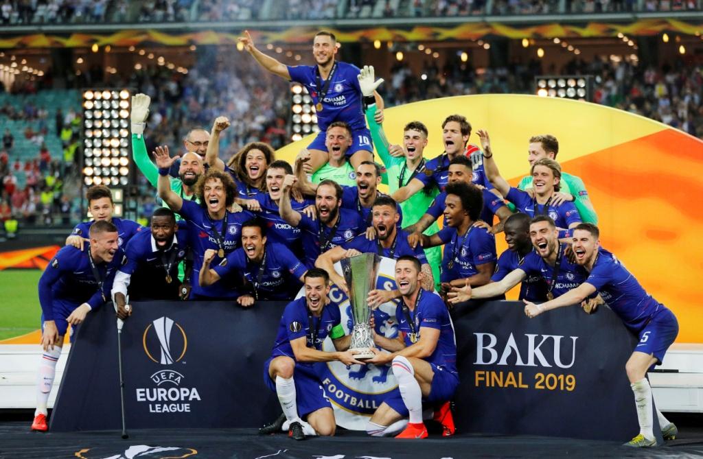 تشيلسي يتوج بلقب الدوري الأوروبي (5)