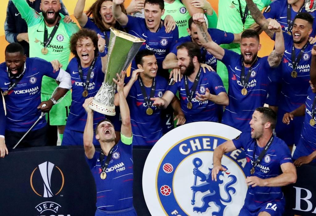 تشيلسي يتوج بلقب الدوري الأوروبي (6)