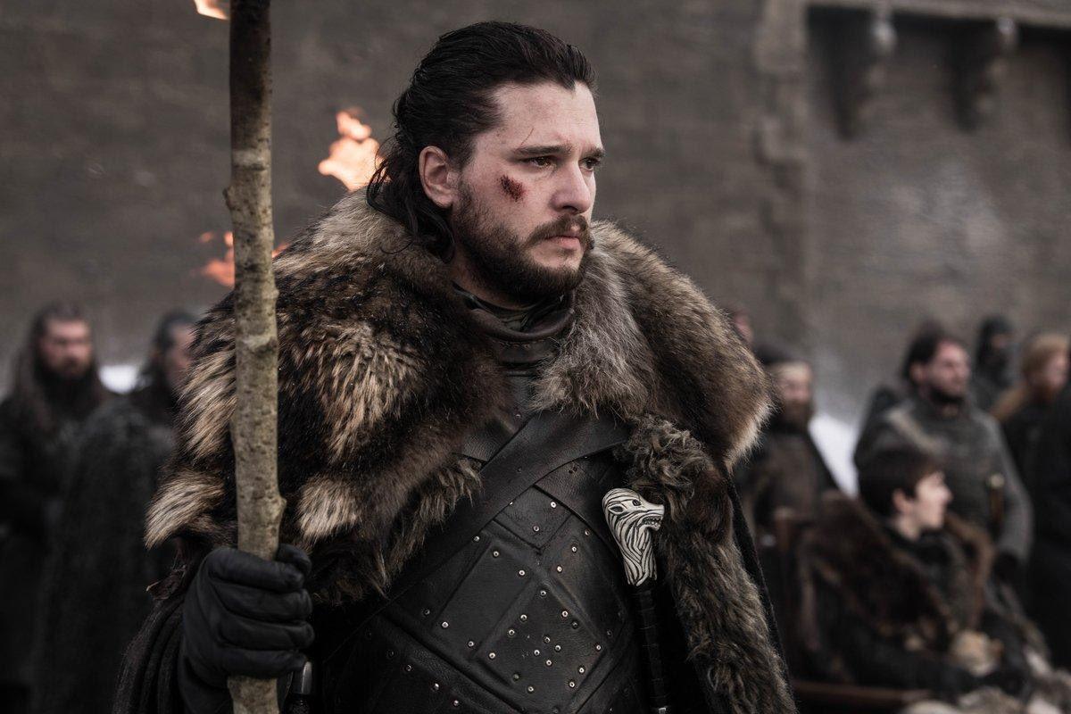 جون سنو بطل Game of Thrones