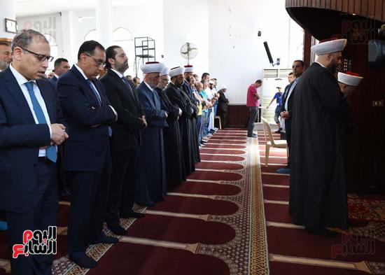 مدبولى يصلى الجمعة مع نظيره اللبنانى بأحد مساجد بيروت (3)