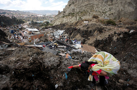Land collapse in Bolivia (8)