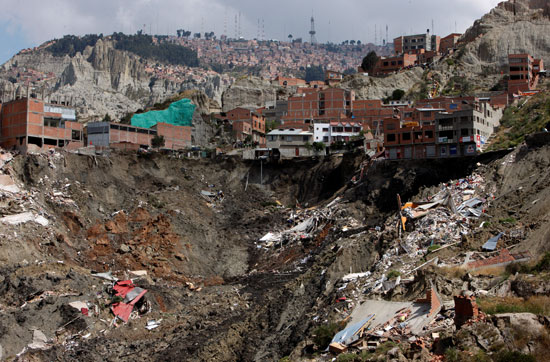 Land Collapse in Bolivia (5)