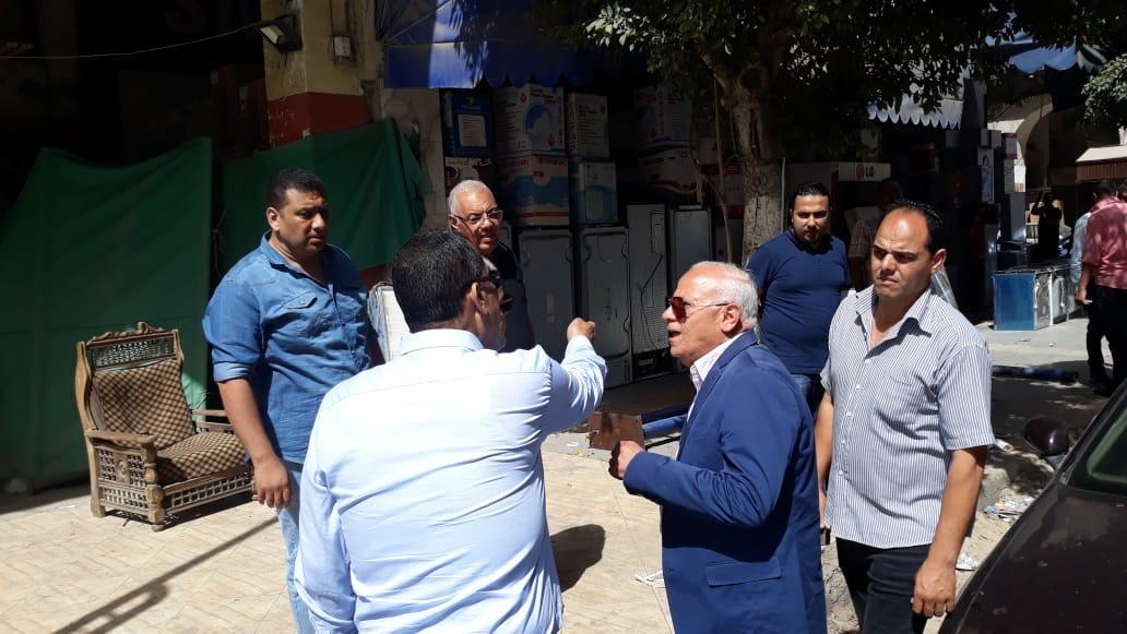 جولة محافظ بورسعيد بحى العرب (1)