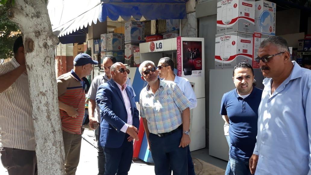 جولة محافظ بورسعيد بحى العرب (4)