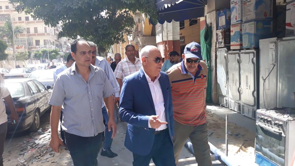 جولة محافظ بورسعيد بحى العرب (5)