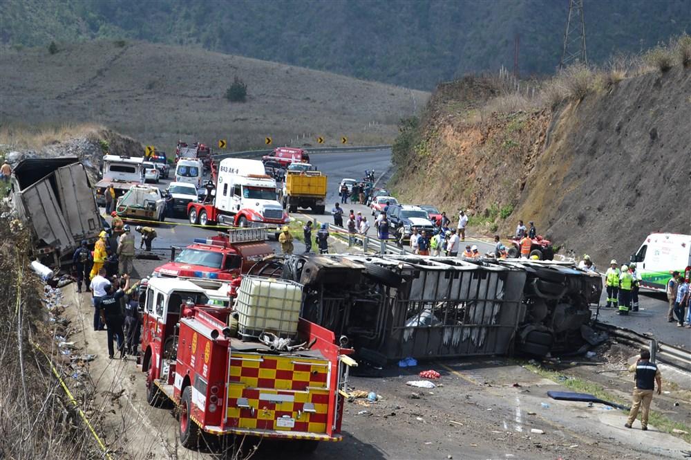 حادث تصام فى المكسيك