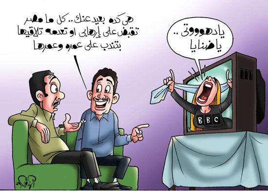 bbc  واستلام هشام عشماوي