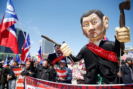 مواطنو منغوليا يحتجون ضد الفساد