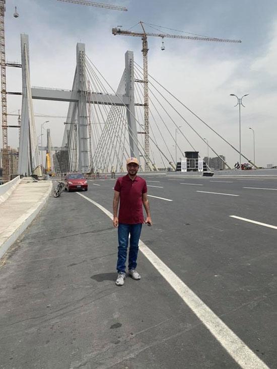 مدون إماراتى شهير يلتقط صورا من أعلى محور روض الفرج (3)