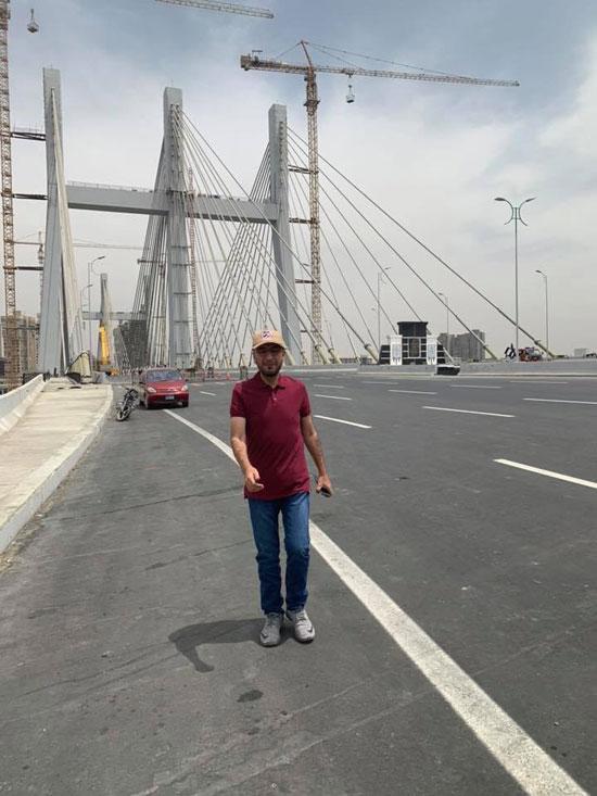 مدون إماراتى شهير يلتقط صورا من أعلى محور روض الفرج (2)