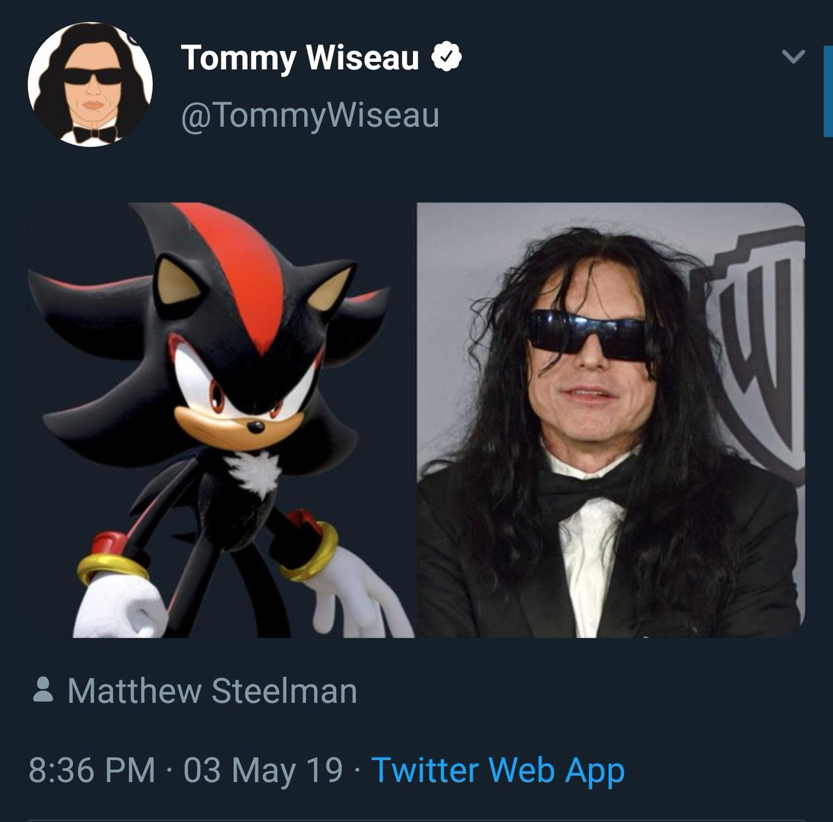 تومى وايزو على تويتر