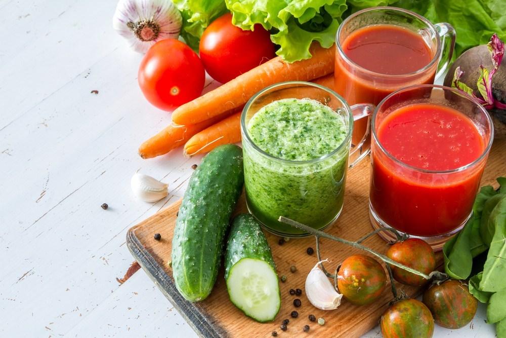 عصير الخضروات