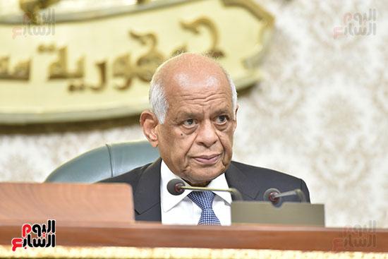 مجلس النواب برئاسة الدكتور على عبد العال رئيس مجلس النواب (1)