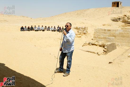 اكتشاف مقبرة لكاهنين من عصر الدولة القديمة فى الهرم (5)