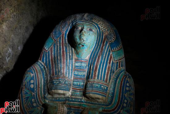 اكتشاف مقبرة لكاهنين من عصر الدولة القديمة فى الهرم (17)