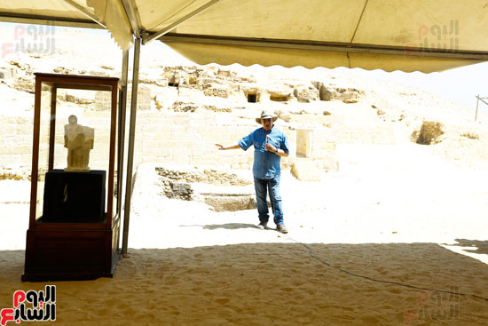 اكتشاف مقبرة لكاهنين من عصر الدولة القديمة فى الهرم (2)