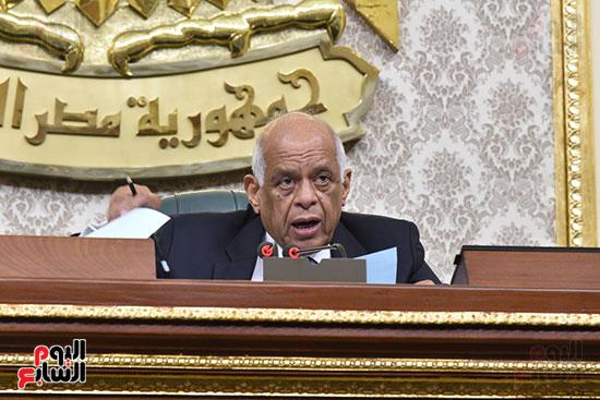 مجلس النواب برئاسة الدكتور على عبد العال رئيس مجلس النواب (12)