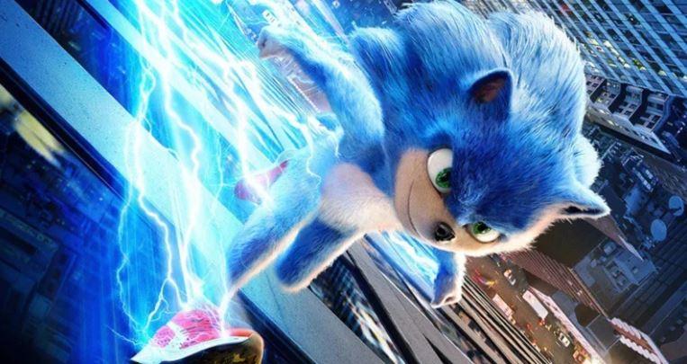 مشهد فى فيلم Sonic the Hedgehog