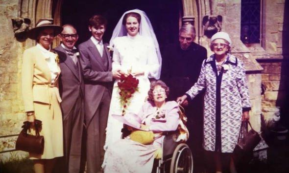 زفاف تيريزا وفيليب ماى