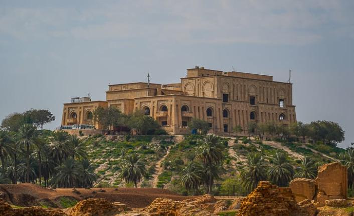 قصر صدام حسين القديم