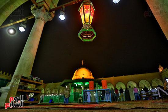 صلاة التراويح فى مسجد عمرو بن العاص (10)