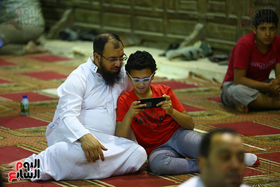صلاة التراويح فى مسجد عمرو بن العاص (5)