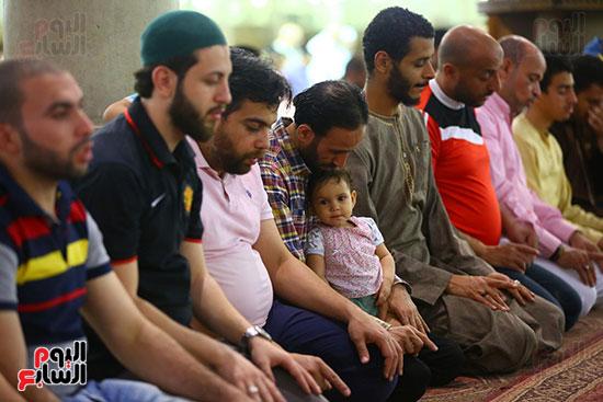 صلاة التراويح فى مسجد عمرو بن العاص (1)