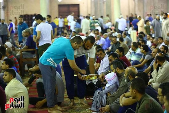 صلاة التراويح فى مسجد عمرو بن العاص (2)