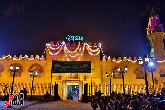 صلاة التراويح فى مسجد عمرو بن العاص (15)