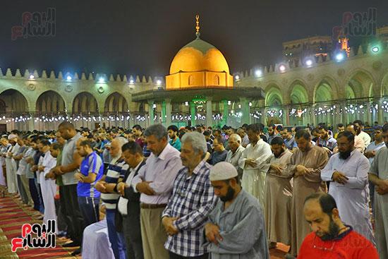 صلاة التراويح فى مسجد عمرو بن العاص (7)