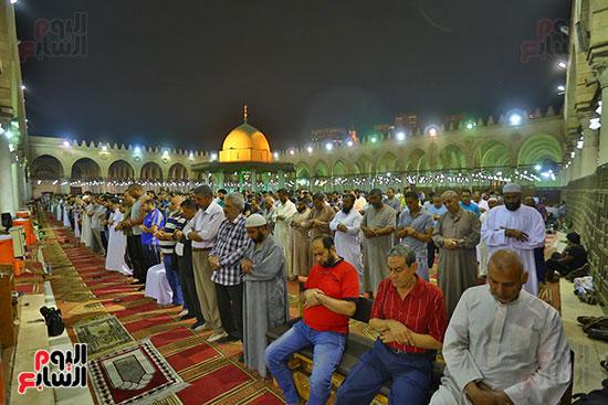 صلاة التراويح فى مسجد عمرو بن العاص (6)