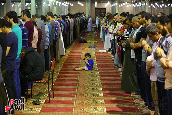 صلاة التراويح فى مسجد عمرو بن العاص (8)