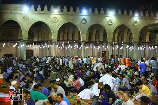 صلاة التراويح فى مسجد عمرو بن العاص (4)