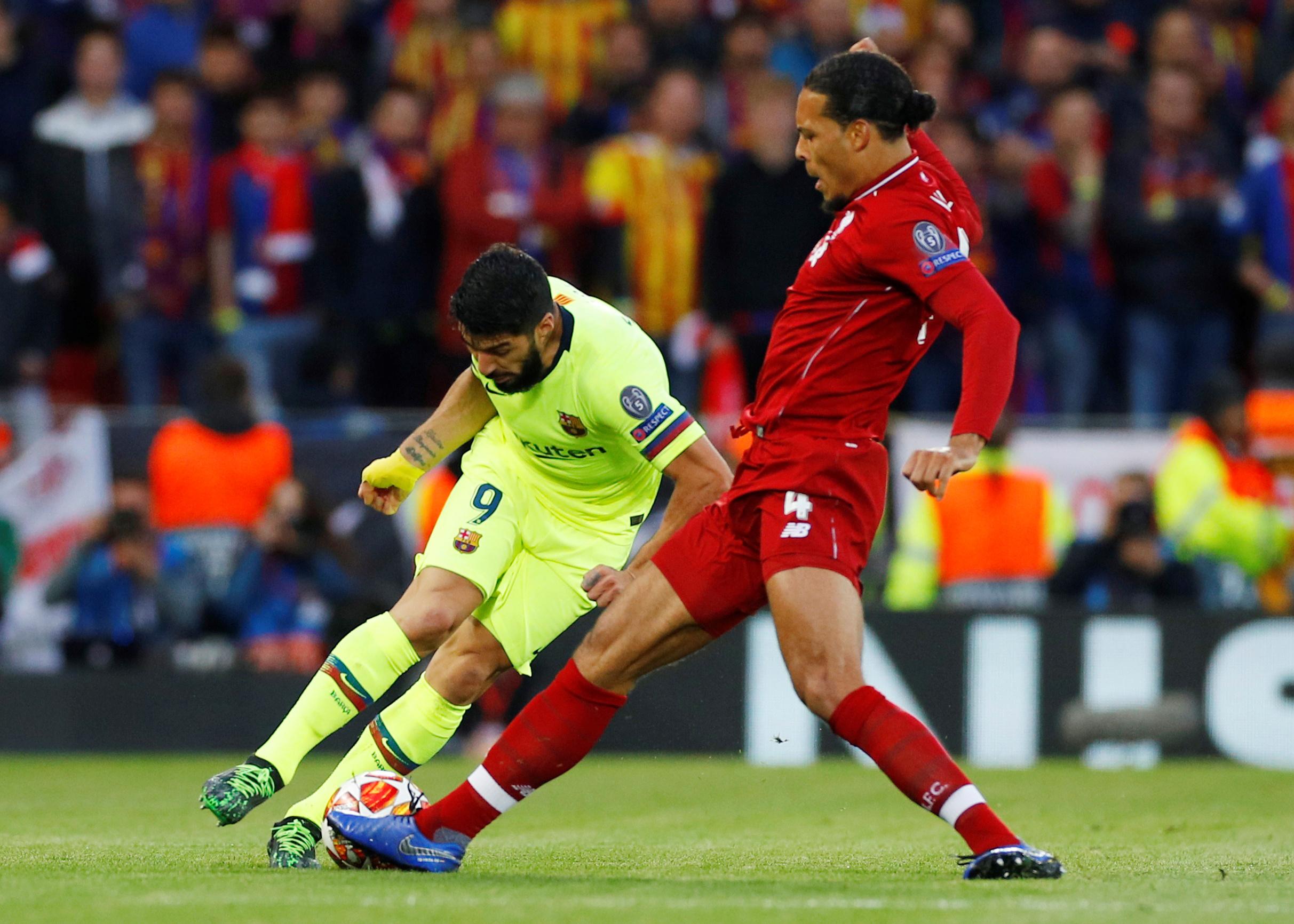 ليفربول ضد برشلونة  (2)