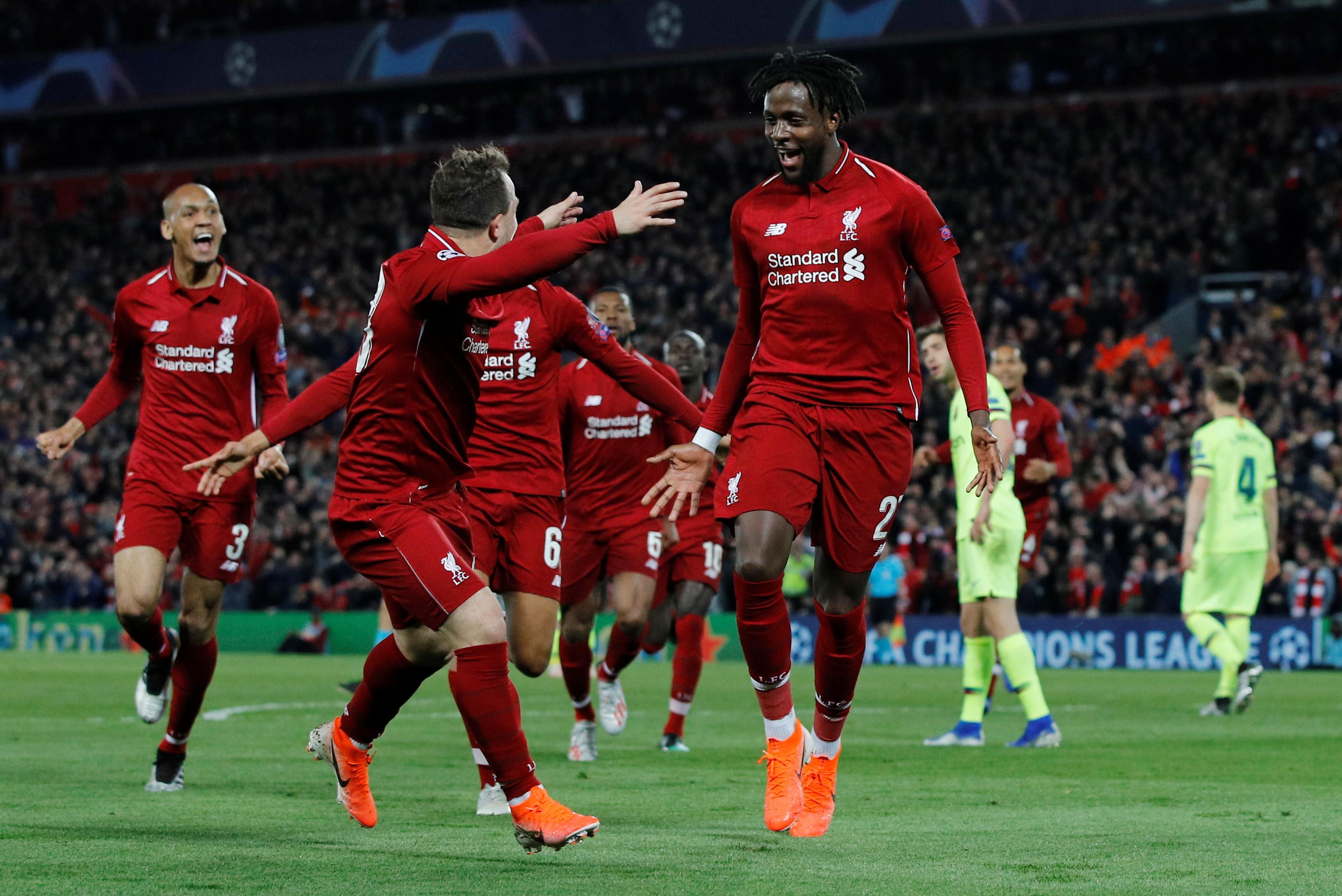 ليفربول ضد برشلونة  (14)