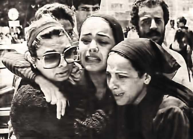 صورة من جنازة عمر خورشيد