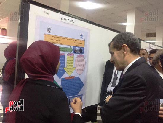 مؤتمر البحوث الطلابية الثالث بجامعة قناة السويس (5)